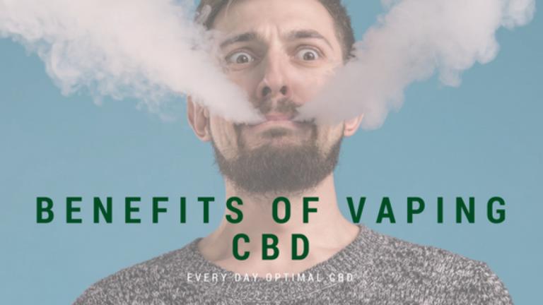 CBD Vaping and Its Benefits